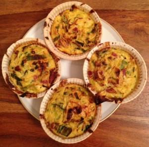 Deftige Sauerkraut-Pastrami-Muffins